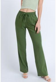 Pantalones Lino Lino Manta Algodon
